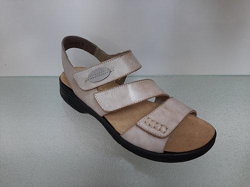 Rieker Sandale, beige