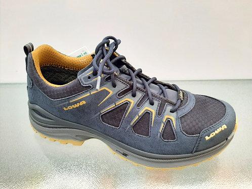 Lowa Herren Modell Innox EVO GTX Lo Farbe stahlblau/senf Art. 310611-9785