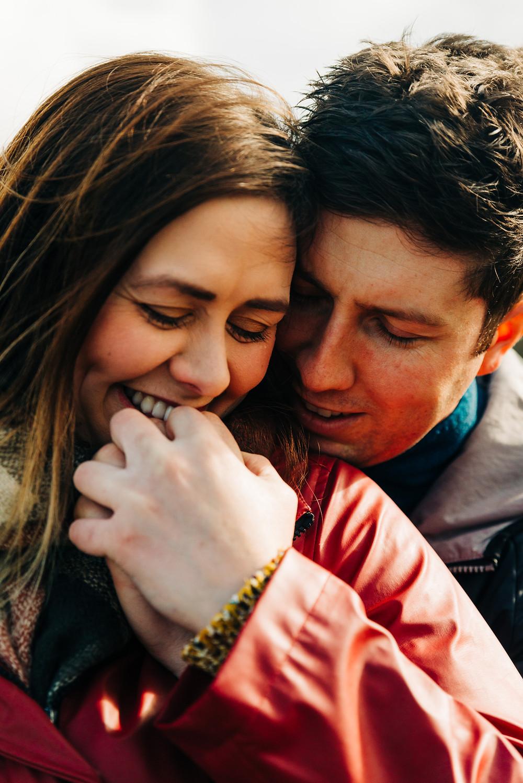 Engagement Shoot Llanberis North Wales Couple