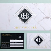 Brand new logo, gift vouchers and appoin