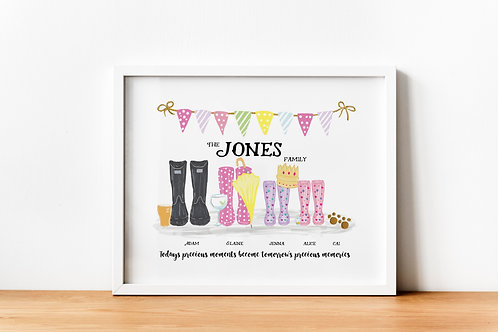 Welly Print Illustrations