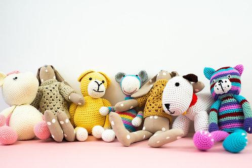 Handmade keepsake teddies