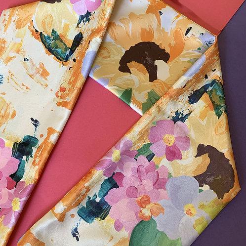 Laura Charley Design Pale Sunflower Hair Tie