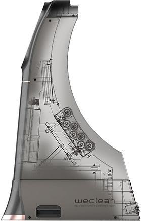 WeClean Escalator Handrail Cleaning System