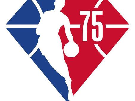 NBA apresenta a logo da temporada do aniversário de 75 anos