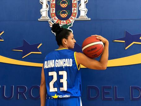 La Salle Melilla, da armadora Alana Gonçalo, visita o Baloncesto Sevilla pela Liga Feminina