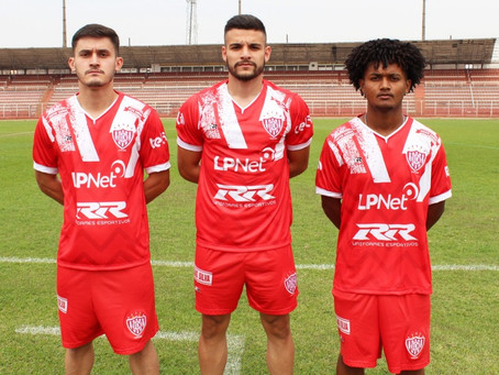 Noroeste apresenta seu novo uniforme e reforços para a Copa Paulista