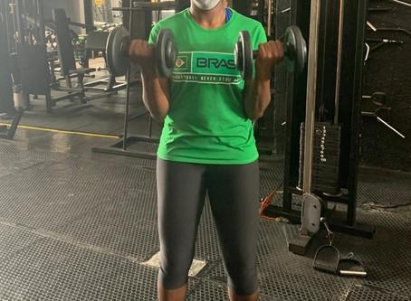 Jaqueline de Paula revela ansiedade para o retorno do basquete feminino