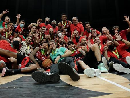 Com campanha histórica, CR Flamengo garante título do NBB