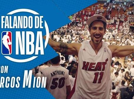 Marcos Mion no 'Falando de NBA'
