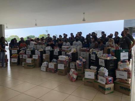 Zopone/Gocil Bauru Basket realiza entrega de alimentos a entidades de Bauru