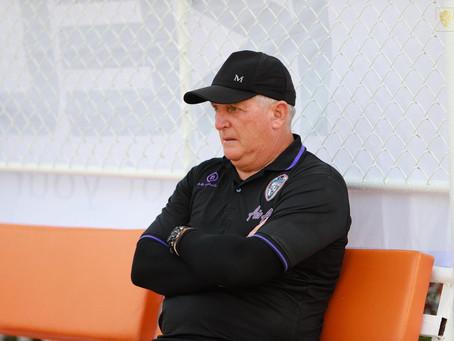 Reuther Moreira já trabalha com o elenco do Trang FC