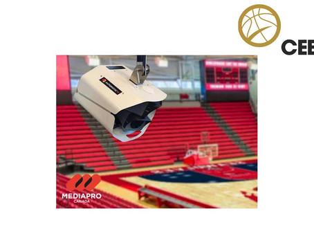 Canadian Elite Basketball League concede à Mediapro a produção automatizada de suas competições