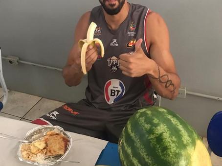 Centerfruta colabora com a alimentação  do Basquete Tatuí