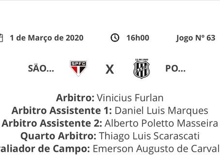 São Paulo é o time mais prejudicado pela arbitragem no Paulista-2020