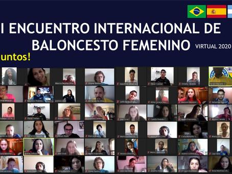 Objetivos alcançados no '1º Encontro Internacional de Basquete Feminino Virtual'