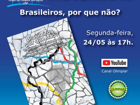 Livro sobre migrantes brasileiros nos Jogos Olímpicos