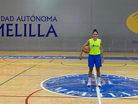 Alana Gonçalo já está  com o elenco do La Salle Mellida