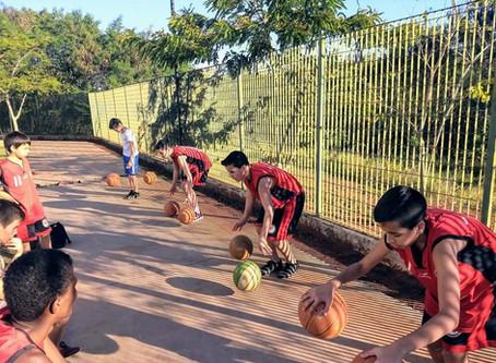 Equipes de base do Basquete Tatuí já estão treinando
