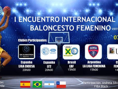 Santo André realiza 'Encontro Internacional de Basquete Feminino Virtual' no dia 07 de junho