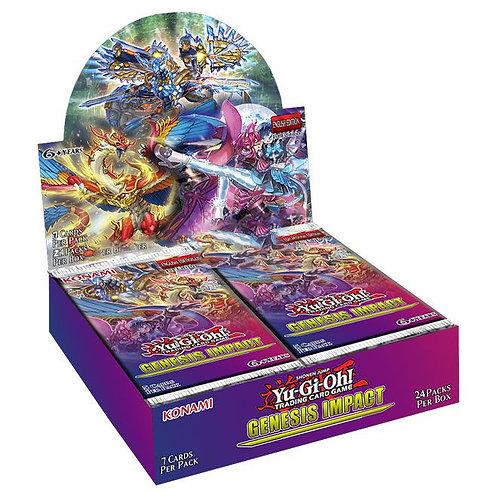YGO - Genesis Impact - Booster Display (24 Packs) - DE