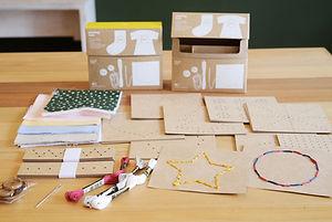 縫工盒, 蒙特梭利, 教具, ivy's house