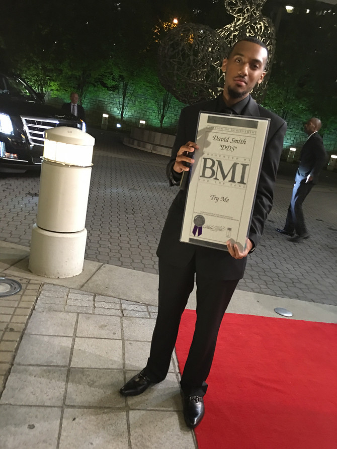 I RECEIVED 2 AWARDS AT THE BMI R&B/HIP-HOP AWARDS 2016 (VIDEO INSIDE)