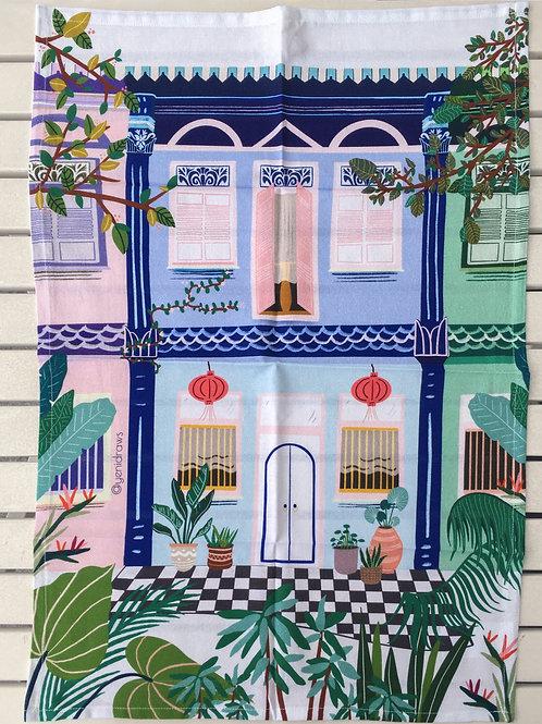 Yenidraws - My Singapore My Home Tea Towel
