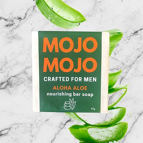 Mojomojo Bar Soap for Men - Aloha Aloe