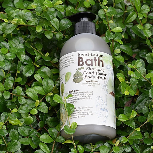 Happy Earth Farm - No Poo Head to Toe Wash (Bottle)