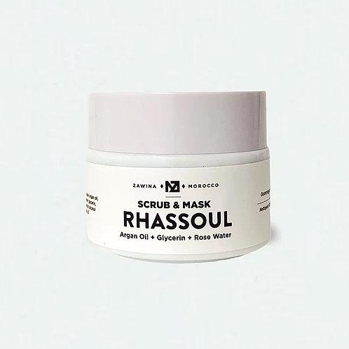 Zawina Morocco - Rhassoul Scrub & Mask