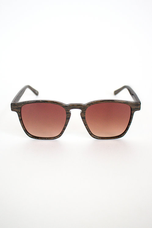 Truth&All - Turtle Sunglasses: Wood TATC2