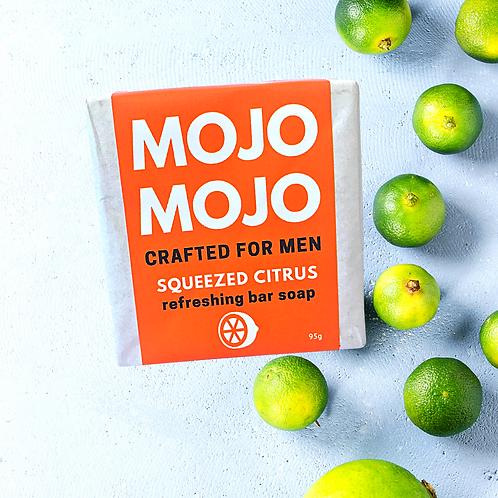 Mojomojo Bar Soap for Men - Squeezed Citrus