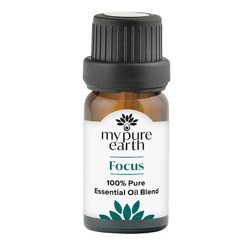 My Pure Earth - Focus Essential Oil Blend, 10ml
