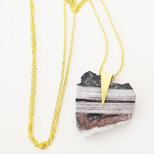 Quazi Design - Pendant Stone Necklace
