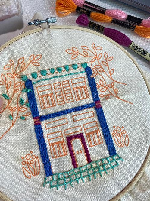 Yenidraws - Embroidery Starter Kit (The Shophouse)