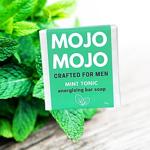 Mojomojo Bar Soap for Men - Mint Tonic