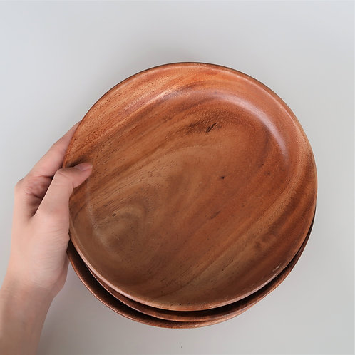 Mei's Own - Small Wooden Plates (Set Of 4)