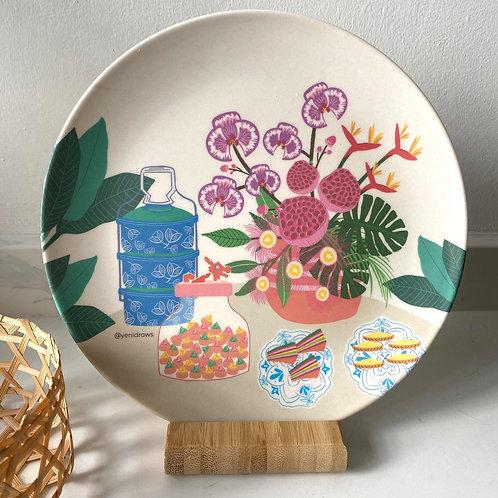 Yenidraws - Bamboo Dining Plates