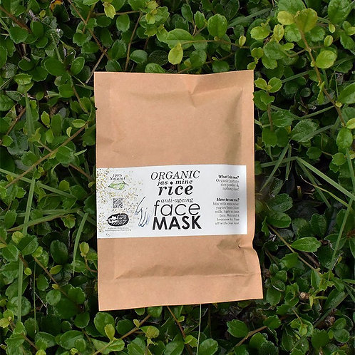 Happy Earth Farm - Jasmine Rice Face Mask