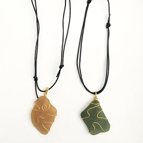 Sea Glass Project - Necklace
