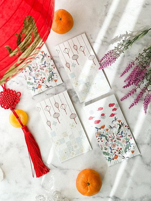 Left-handesign - Bij Ang Bao Envelopes (Pack of 4)