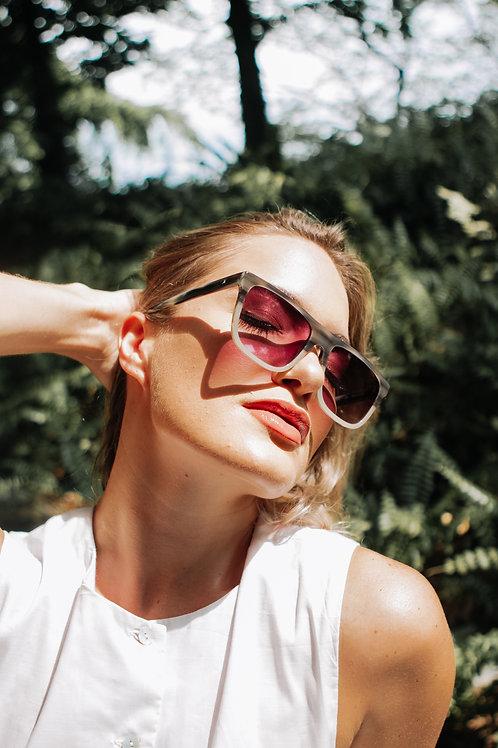 Truth&All - Marlin Sunglasses: Grey Wave TAMC2