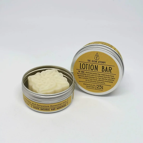 The Clean Attempt - Lotion Bar