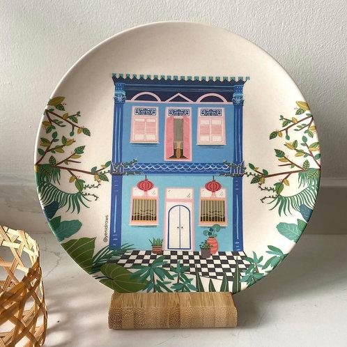 Yenidraws - Bamboo Dining Plates (8 inch - Set of 2)