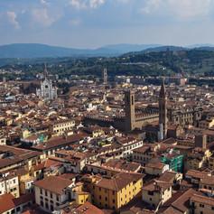 Firenze látképe, Toscana, Olaszország