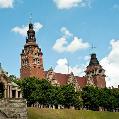 Stettin harbour