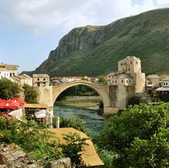 Az Öreg-híd Mostarban, Bosznia-Hercegovina