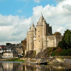 Josselin várra, Franciaország, Bretagne
