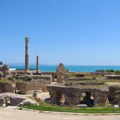 Karthagó romjai, Tunézia